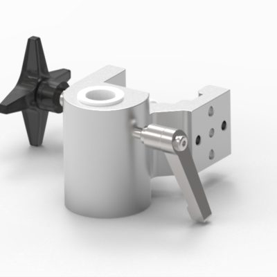 Multibracket, 2xØ6 holes, fixing device Ø18mm hole, JB 158-03-18