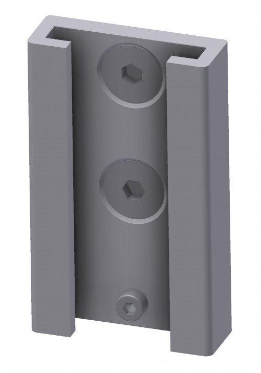 T-slot bracket for multi-bracket, JB 163-00-01