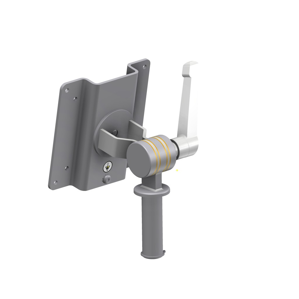 Monitor Bracket, Ø20mm, Stainless Steel, JB 27-00-00