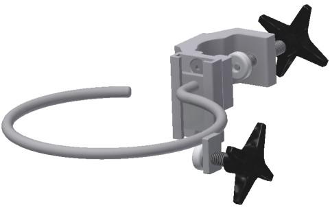 Oxygen & Gas cylinder holder, top, Ø140mm, JB 277-01-00