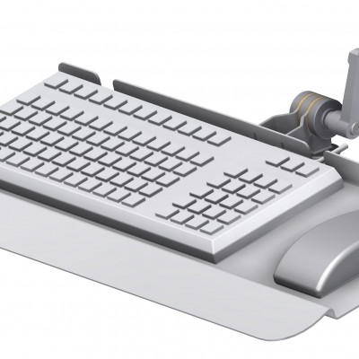 Keyboard Tray, Hand Support, 20 mm, Stainless Steel, JB 43-01-00