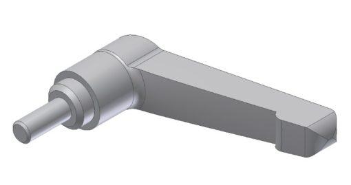 Stainless adjustable handle M6 x 20mm, JB 94-00-00