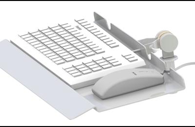 Tastaturholder, ergonomisk håndledstøtte, JB 24-00-00