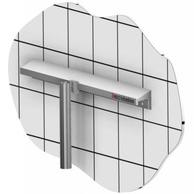 Catheter container, 400mm. T-slot holder, JB 239-00-00