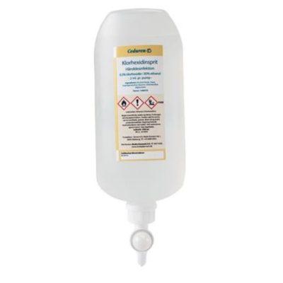 Ceduren, klorhexidinsprit 85% m. glycerol, 1L, JB 72-887-32-01