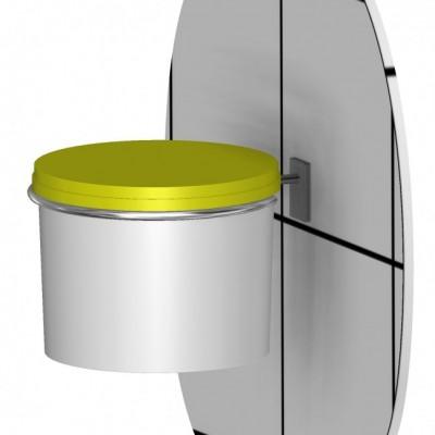 Kanyleboksholder Ø200mm, 5 & 7 Liter, JB 264-00-00