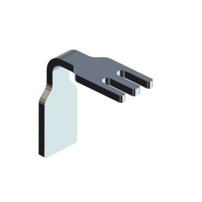 Slangeholder med styr for T-spor, JB 292-00-00