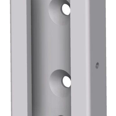 Vægbeslag, hul i siden for låsning JB 47-01-01