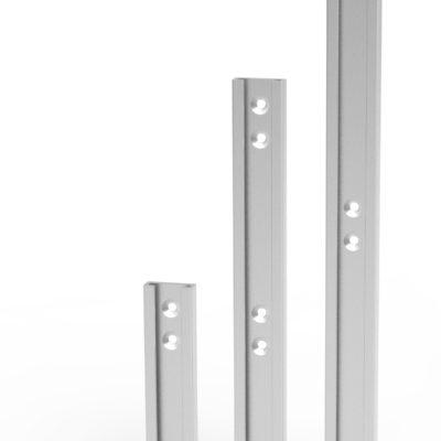 Vægbeslag forskellige længder/varianter