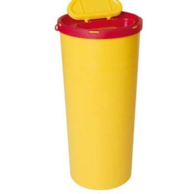 Multi-Safe opti, kanylebøtte gul låg, oval åbning, 3 Liter, JB 31-541-80-01