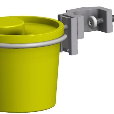 Holder til 1,3-1,5-2-3,1 Liter, runde kanylebokse, JB 149-00-00