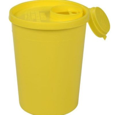 Uson boks, gul låg, kanyleaftap, UN Godkendt , 1,5 L, JB 31-521-51-01