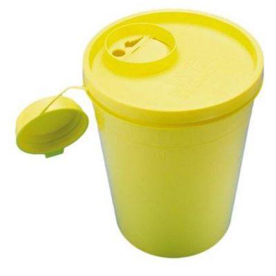 Uson boks, gul låg, kanyleaftræk, UN godkendt, 500 ml, JB 31-515-01-01