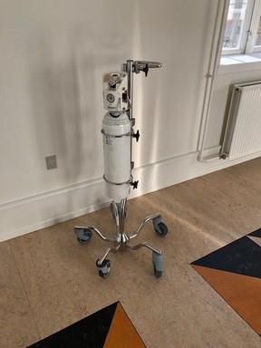 Oxygen cylinder holders