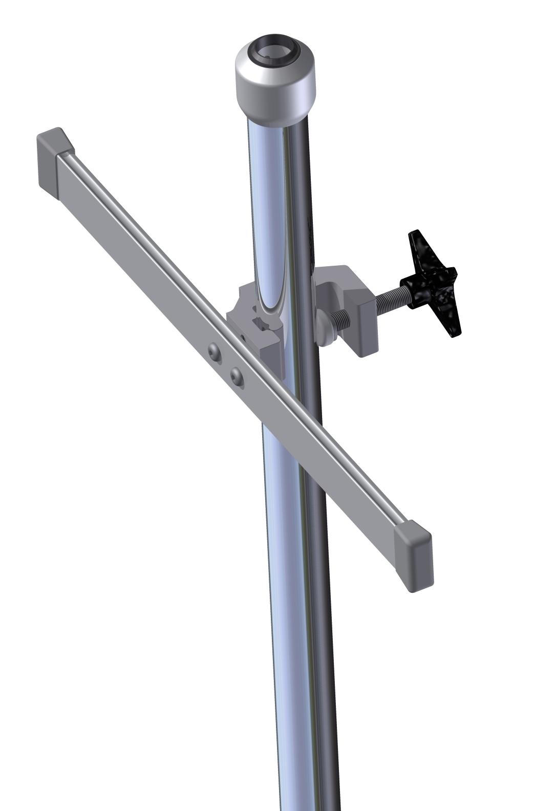 Multibeslag, 2xØ6 frihuller, fra Ø16-41mm, JB 158-00-05