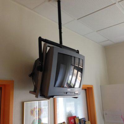 Vanskelig overgang fra billede rørs-tv til fladskærm!