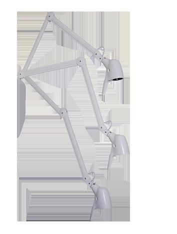 Carelite LED – Ny generation – Patientens sengelampe, CAG026498