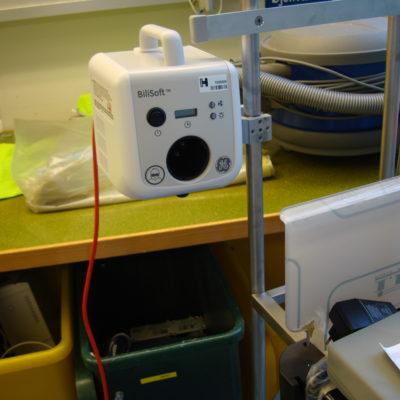 Monitorering af BiliSoft Lysbehandling System fra Ge Healthcare med multiklo fra JB-Medico (1)