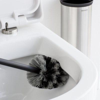 "Toiletbørste passer til ""Toiletbørste, mat rustfast stål"", JB 29-14"