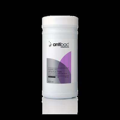 Antibac vægholder, rustfast stål til vådserviet f.overfl.desinfekt. JB 72-88-806
