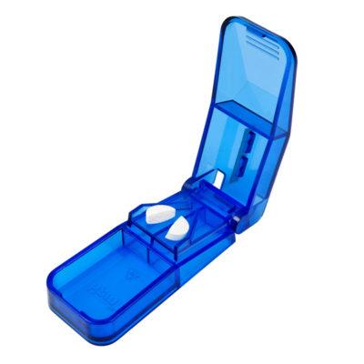 Tabletdeler blå, rustfast kniv JB 30-03-50