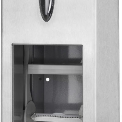 Dispenser, Tork T7, til 2 ruller toiletpapir, stålgrå, JB 900-010