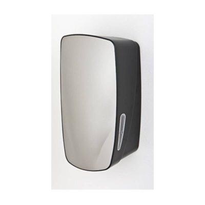 Dispenser, Mercury, toiletpapir i ark, sølv & sort, maxi, JB 11-67-52