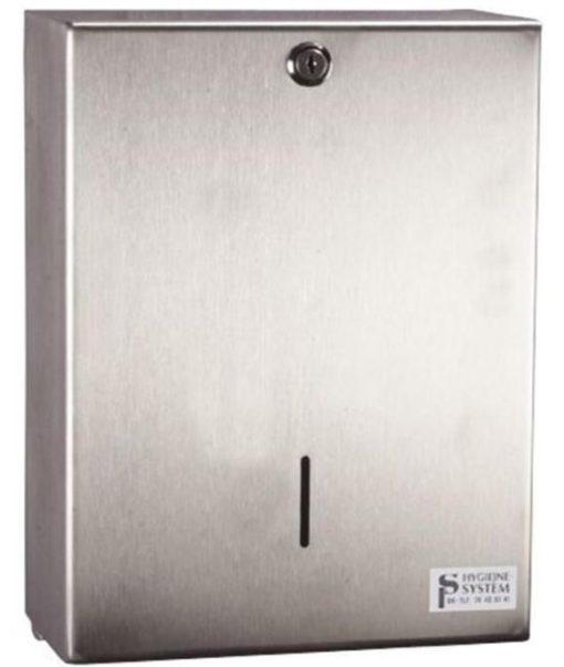 Dispenser, Neutral, til alle typer håndklædeark, stålgrå, maxi, JB 26-83-02