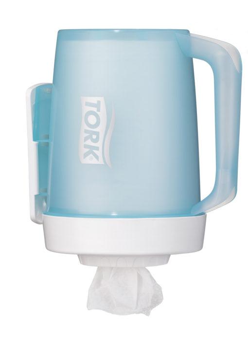 Dispenser, Tork M1, til mini håndklæderuller, hvid, mini, JB 117-615
