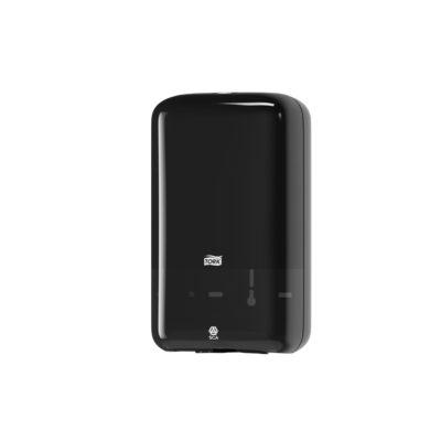 Dispenser, Tork T3, til toiletpapir i ark, sort, JB 11-75-75