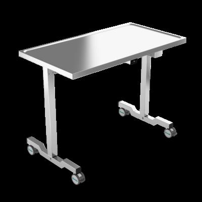 Instrument Table, Heavy Loads, 80 kg, 2 Legs, JB 100 24