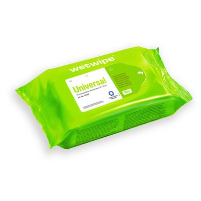Wet Wipe Universal Astma Allergi, mini, grøn, 30x20 cm