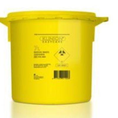 Klinion Easycare, boks gul, kanyleaftræk, UN godkendt, 21L, JB 315-89-36