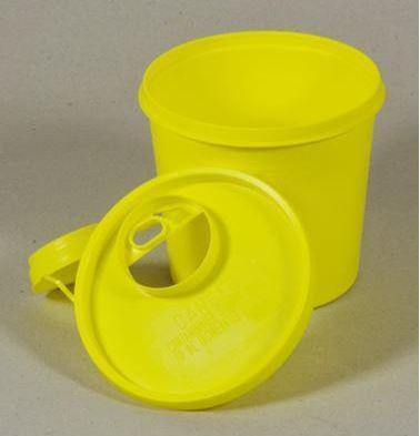 Klinion Easycare, boks, gul, kanyleaftræk UN Godk, 1,3 L. JB 315-89-10