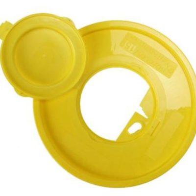 Klinion Easycare, boks, gul, kanyleaftræk UN godkendt, 11 L, JB 315-89-31