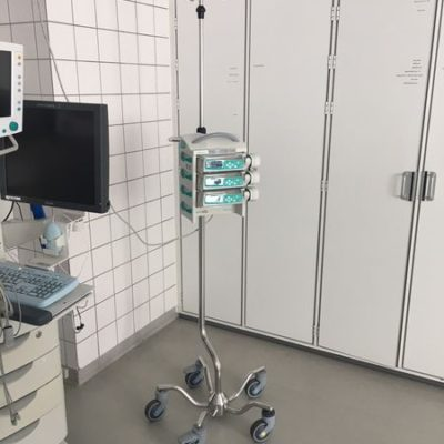 "IV Pole ""XLL"", One Hand telescopic solution, JB 332-2-320-190"