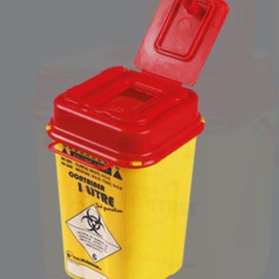 Kanyleboksholder for 1 liter boks fra Europlásticos, JB 170-00-00