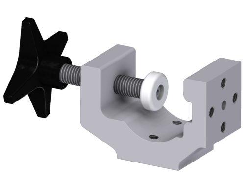 Multibracket with 2xØ6 clearance holes, JB 158-00-05