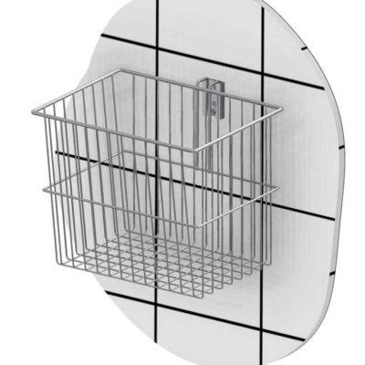 Wire basket 15 L, conical, T-slot hook, JB 161-02-01